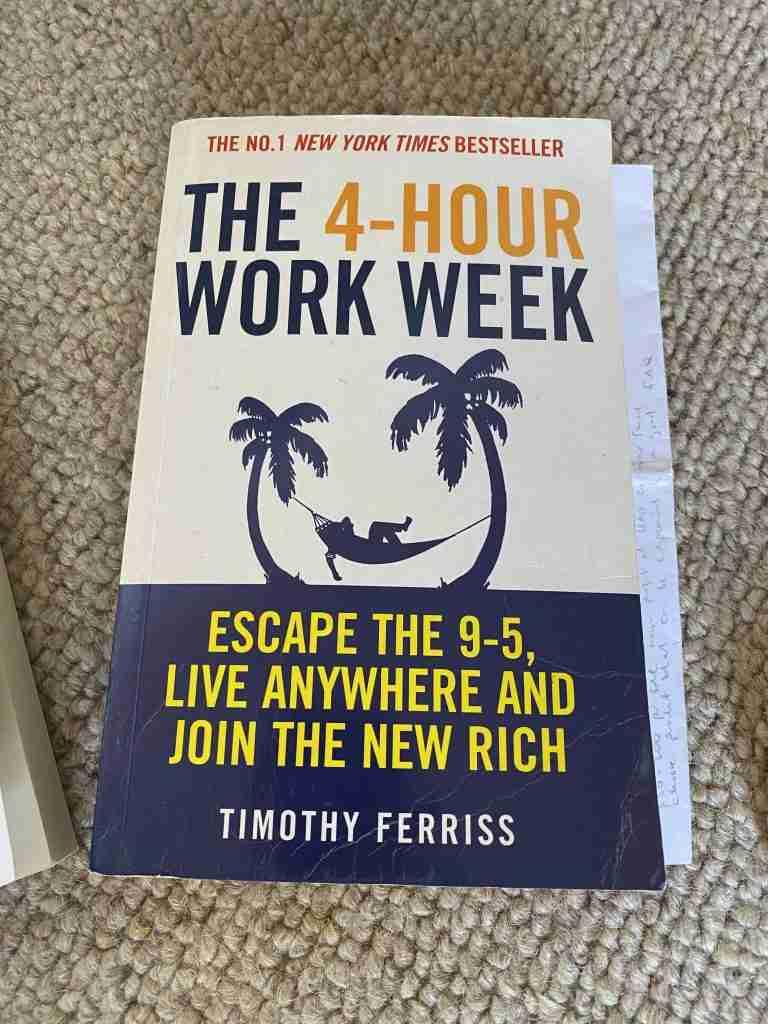 4 hour work week book
