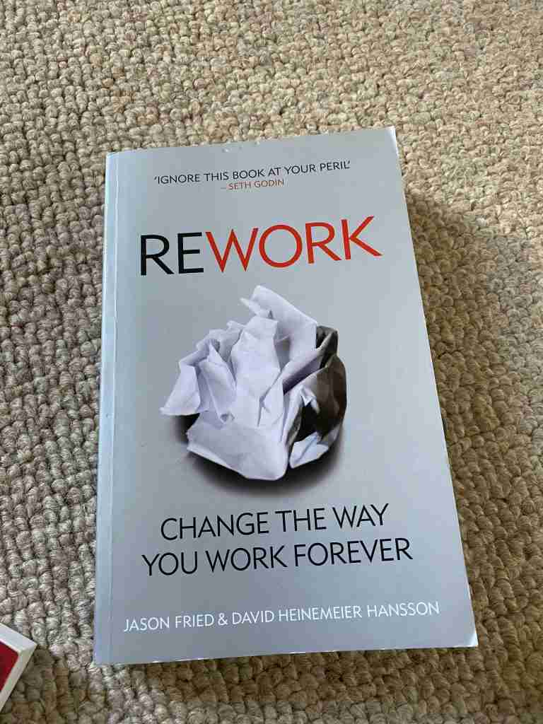 rework by fried and hansson